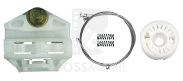 Bossmobil Mercedes Benz E-KLASSE (W210, S210), 4/5 doors, rear right or left, window lifter repair kit