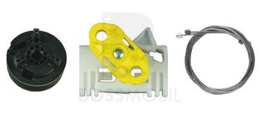 MERIVA,Hinten Links , manuell oder elektrische Fensterheber Reparatursatz