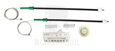 Bossmobil CORSA, avanti sinistra, 4/5 porte, set riparazione per sollevatore di finestrino alzacristalli