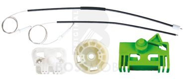 Bossmobil Peugeot 306 (7B, N3, N5), 306 Break (7E, N3, N5), 306 (7A, 7C, N3, N5), 2/3 doors, front right, window lifter repair kit