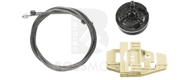 Bossmobil Renault Modus (F/JP0_),  2/3 doors or 4/5 doors, front right, window lifter repair kit