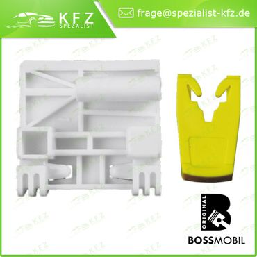 Bossmobil Renault LAGUNA 2 II (BG0/1_), LAGUNA 2 II Grandtour (KG0/1_), 4/5 doors, rear left, window lifter repair kit