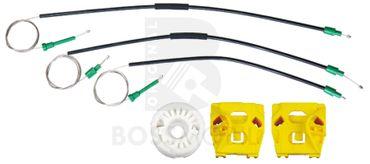 9-3 (YS3F), (Kombi),Vorne Links , manuell oder elektrische Fensterheber Reparatursatz