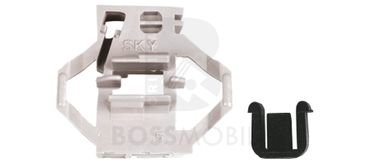 Bossmobil Seat IBIZA 2+3 II + III (6K1), 4/5 doors, rear left, window lifter repair kit