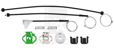 Bossmobil Seat IBIZA 2+3 II+III (6K1), 4/5 doors, front right, window lifter repair kit