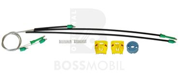 Bossmobil Seat IBIZA IV (6L1), 4/5 doors, front right or left, window lifter repair kit