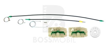 Bossmobil Seat ALHAMBRA (7V8, 7V9), 4/5 doors, front right, window lifter repair kit