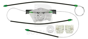 Bossmobil Skoda Fabia, Praktik, Combi(6Y, 6Y2, 6Y3, 6Y5),  2/3 doors or 4/5 doors, front right, window lifter repair kit