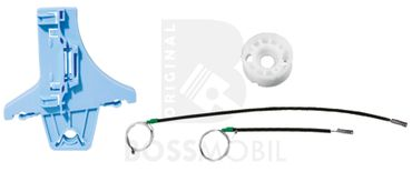 Bossmobil Volkswagen VW Golf 5, 4/5 doors, rear right, window lifter repair kit