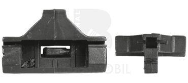 Bossmobil VOLKSWAGEN JETTA 2 II, avanti sinistra, 4/5 porte, set riparazione per sollevatore di finestrino alzacristalli