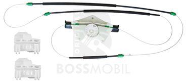 Bossmobil PASSAT, avanti sinistra, 4/5 porte, set riparazione per sollevatore di finestrino alzacristalli