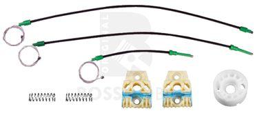 VW Passat (6B,3C2, 3C5),Vorne Rechts, manuell oder elektrische Fensterheber Reparatursatz – Bild 1