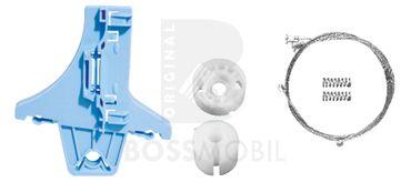 Bossmobil PASSAT, dietro sinistra e destra, 4/5 porte, set riparazione per sollevatore di finestrino alzacristalli