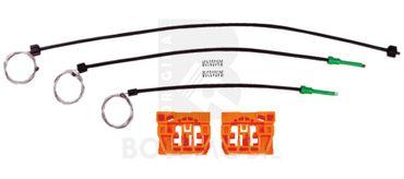 Bossmobil TOURAN (1T1, 1T2), 4/5 portes, devant droite ou gauche, kit de réparation du lève vitre