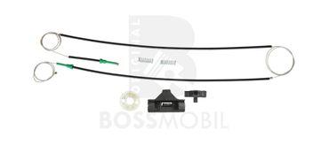 Bossmobil LUPO, avanti sinistra e destra, 4/5 porte, set riparazione per sollevatore di finestrino alzacristalli