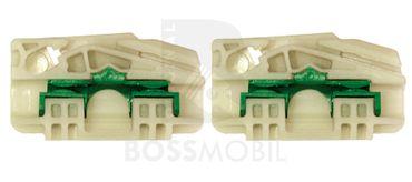 Bossmobil SHARAN, avanti destra o sinistra, 2/3 o 4/5 porte, set riparazione per sollevatore di finestrino alzacristalli