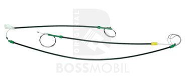 Bossmobil VENTO (1H2), 2/3 ou 4/5 portes, devant gauche, kit de réparation du lève vitre