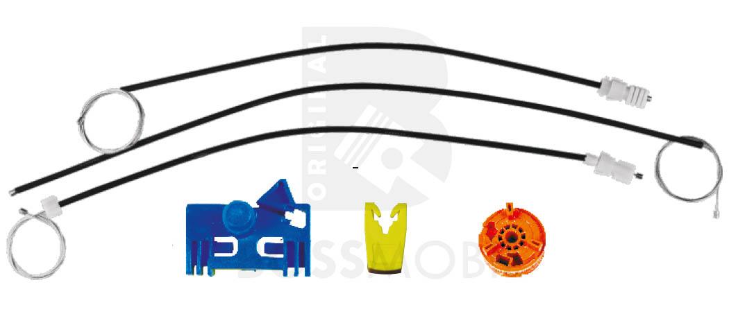 elektrische Fensterheber Reparatursatz,Vorne Links *NEU* LINEA manuell o