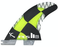 FCS II MB PC Carbon Medium Acid Tri Fin Set