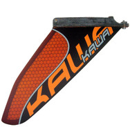 Makani KAWA Flatwater Race SUP Fin - Carbon / Orange HC