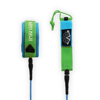 ARIINUI SUP Spiral Knee Leash 9' Blue / Green