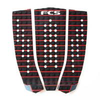 FCS Ryan Hipwood Grip Pad Black / Fire Engine Red