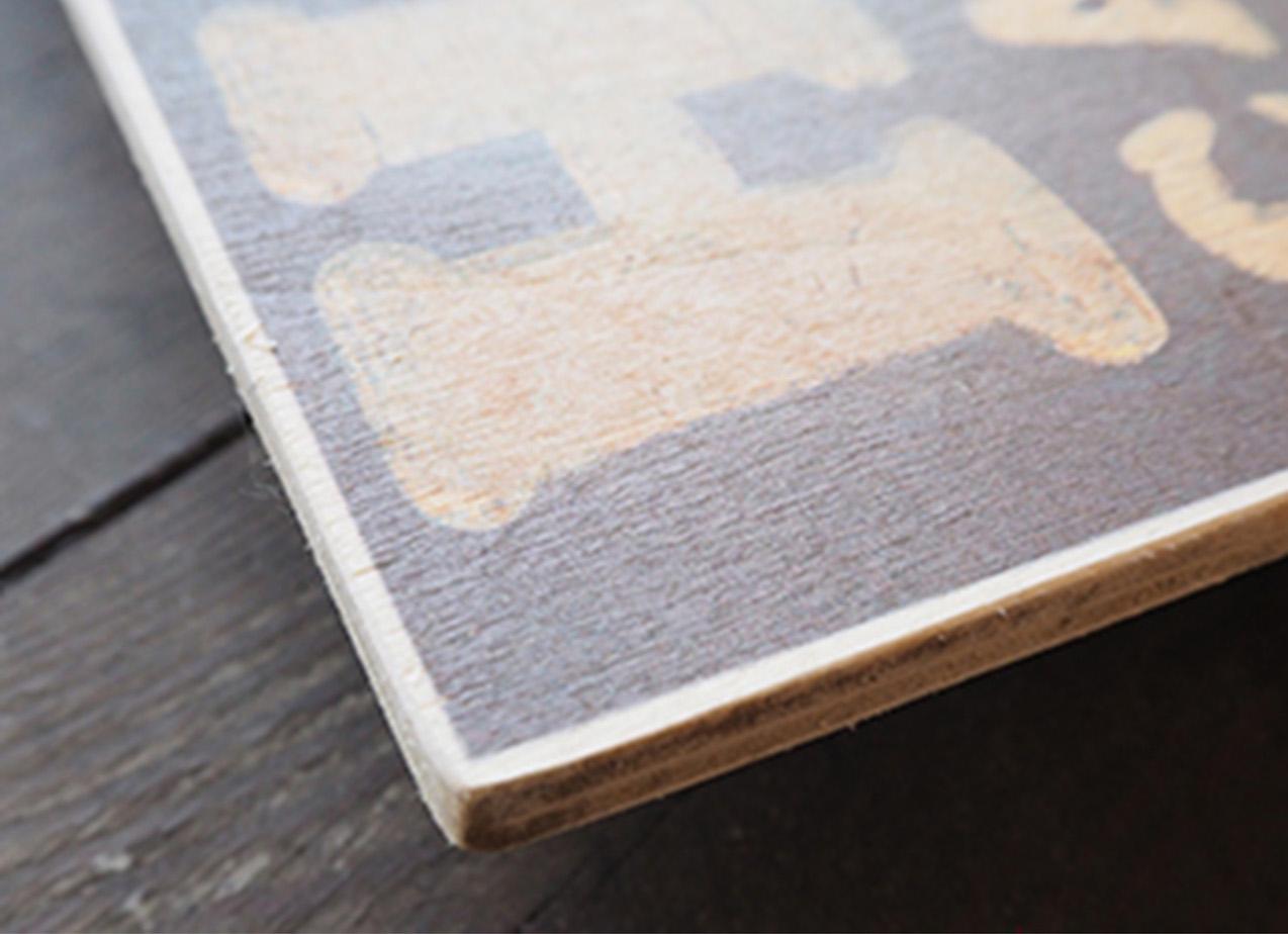 Woodprint Beispiel