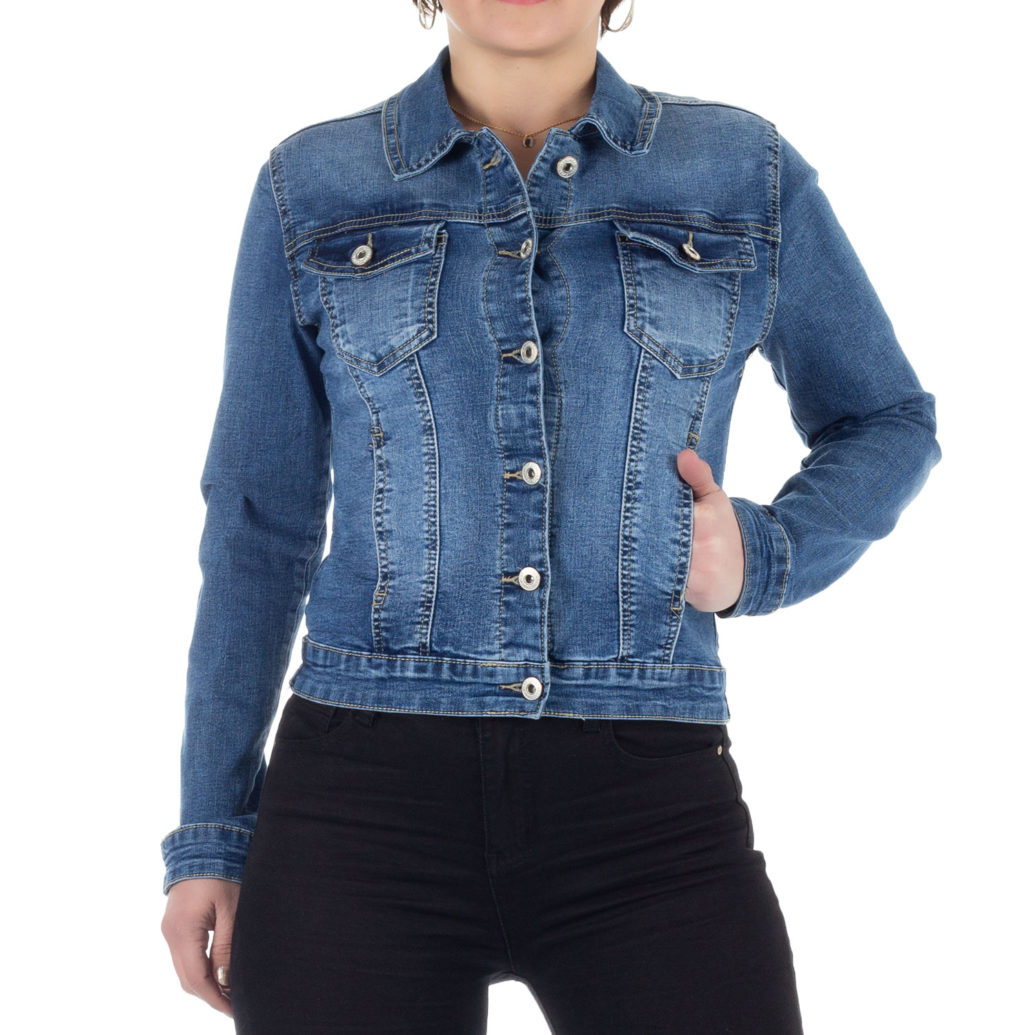 jeansjacke damen stretch