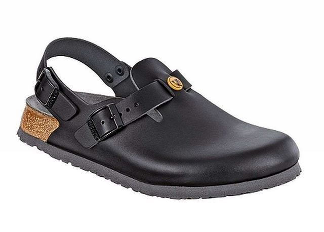 a876bb07bc40 Birkenstock Tokio Tokyo Leather Work Shoes Clogs Super Grip unisex ESD  Sandals