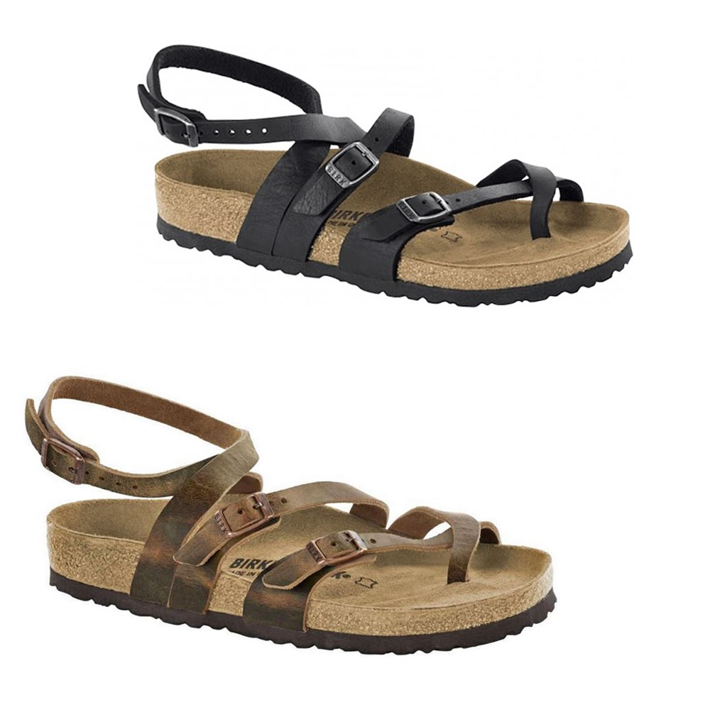 833dea6d89c Birkenstock Seres Camberra Old Tabacco Slides Sandals Thongs Ankle Strap  Leather
