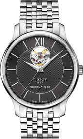 Tissot TISSOT TRADITION AUTOMATIC OPEN HEART T063.907.11.058.00 Herren Automatikuhr