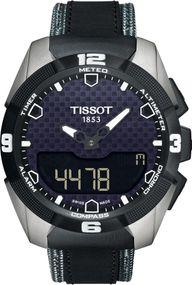 Tissot T-TOUCH EXPERT SOLAR TITAN-STOFF T091.420.46.051.01 Herrenchronograph