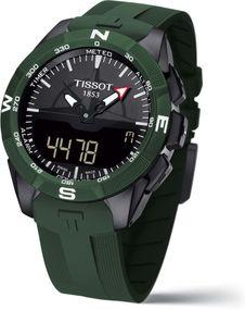 Tissot T-TOUCH SOLAR 2 TITAN GRÜN SILIKONBD T110.420.47.051.00 Herrenchronograph