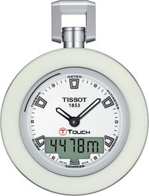 Tissot POCKET TOUCH WHITE RING T857.420.19.011.00 Taschenuhr