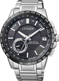 Citizen Satellite Wave CC3005-51E Herrenarmbanduhr GPS Empfang f. Uhrzeit & Zeitzone