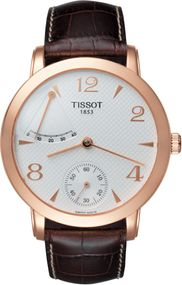 Tissot TISSOT SCULPTURE LINE MECHANICAL POWER RESERVE 18K GOLD T71.8.461.34 Mechanische Herrenuhr
