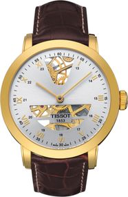Tissot TISSOT SCULPTURE LINE MECHANICAL 18K GOLD T71.3.471.33 Mechanische Herrenuhr