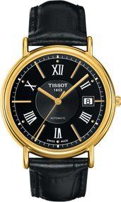 Tissot TISSOT CARSON AUTOMATIC 18K GOLD T907.407.16.058.00 Herren Automatikuhr