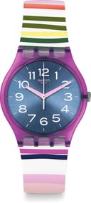 Swatch Worldhood FUNNY LINES GP153 Armbanduhr