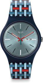 Swatch Worldhood WOVERING SUON710 Armbanduhr