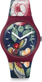 Swatch Worldhood LADY BUZZ SUOR113 Armbanduhr