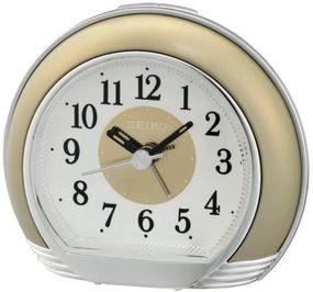 Seiko Clocks QHE119G Wecker Laufende Sekunde