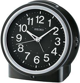 Seiko Clocks QHE117K Wecker Laufende Sekunde