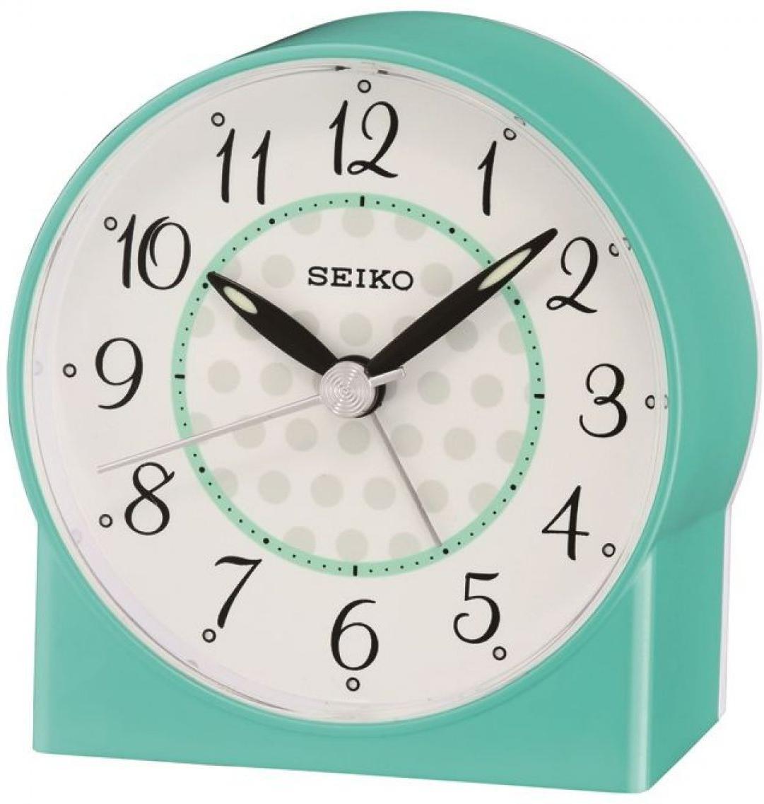Seiko Clocks QHE136L Wecker Laufende Sekunde