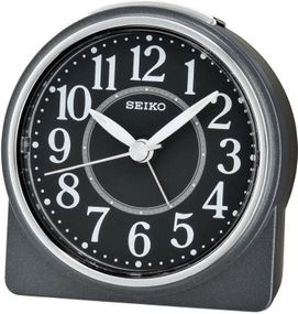 Seiko Clocks QHE137K Wecker Laufende Sekunde