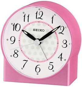Seiko Clocks QHE136P Wecker Laufende Sekunde