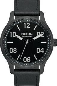 Nixon Patrol Leather A1243-2998 Herrenarmbanduhr