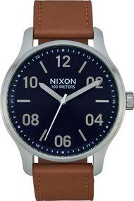 Nixon Patrol Leather A1243-2186 Herrenarmbanduhr