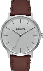 Nixon Porter Leather A1058-1113 Herrenarmbanduhr