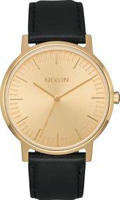 Nixon Porter Leather A1058-510 Herrenarmbanduhr